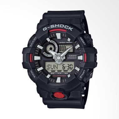 CASIO G-SHOCK  GA-700-1ADR  Jam Tangan Pria - Black c689a25ed9