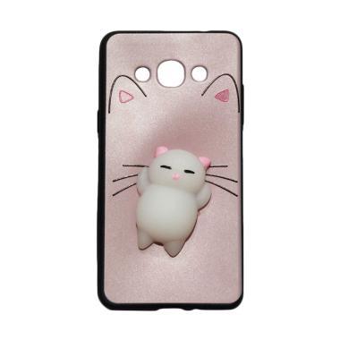 Winner Squishy Lazy Cat Softcase Casing for Samsung Galaxy J3 Pro J3110