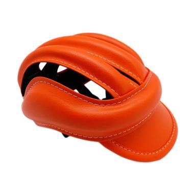 TOPI Helm Colour Bike Caps - Red