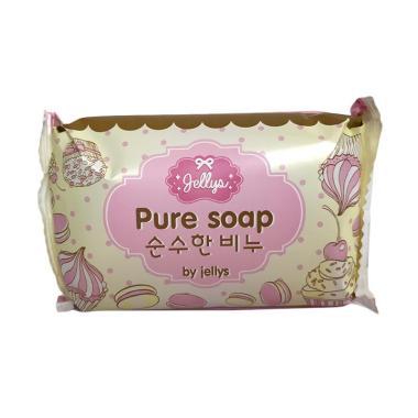 PROMO Jellys Pure Soap Whitening ORIGINAL THAILAND SUDAH BPOM