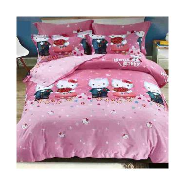 Melia Bedsheet S-0231 Sutra Organic Set Sprei - Pink