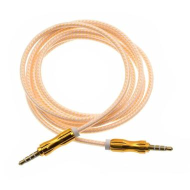 Rhaya Grosir Rainbow Kabel AUX Audio - Yellow