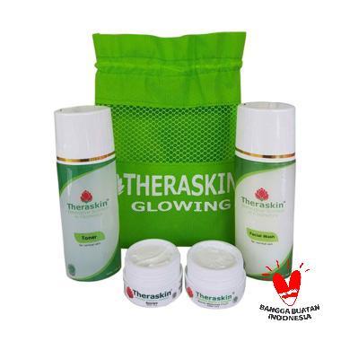 Theraskin BPOM Paket Glowing Cream Pencerah Wajah