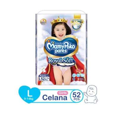 Mamypoko Pants L 52 Girls