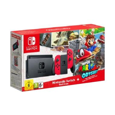 Nintendo Switch Super Mario Odyssey Bundle Game Console