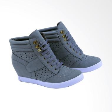 Garsel GLI 4268 Ankle Boots Sepatu Wanita - Abu