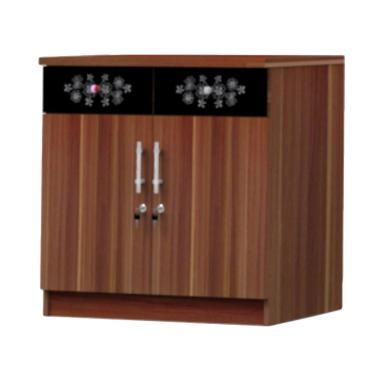 Super furniture KSB 821 Kitchen Set Bawah - Modesto Walnut