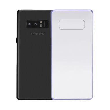 online store 308b4 b9512 Samsung Original Clear Cover Casing for Galaxy Note 8 - Metalic Blue