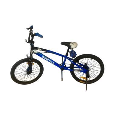 harga Wim Cycle FS Zero 20 AF Sepeda BMX - Black White Blibli.com