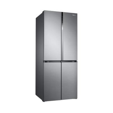 Samsung RF50K5960S8 French Door Tri ...  System Lemari Es [486 L]