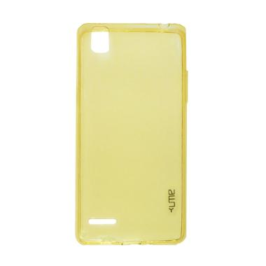 Ume Ultrathin Silikon Jellycase Sof ... or Oppo F1 / A35 - Yellow