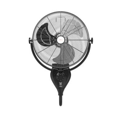 Maspion PW-501 Power Wall Fan with Remote - Hitam [20 Inch]