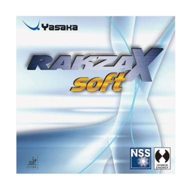 Yasaka Rakza X Soft Rubber Bat Tenis Meja - Black