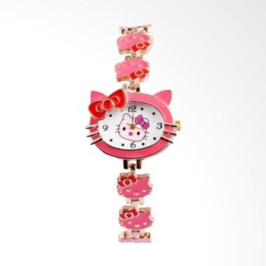 Hello Kitty WAT1514F Cute Cartoon W ... gan Anak Perempuan - Pink
