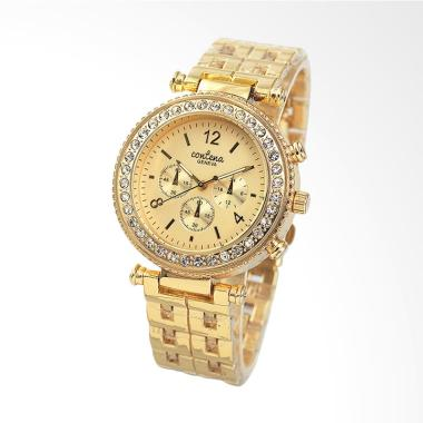 CONTENA WAT8088-1 Luxury Ladies Qua ...  Jam Tangan Wanita - Gold