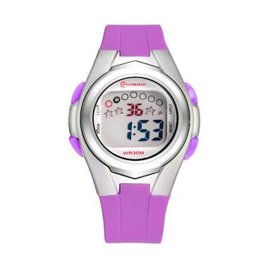 MINGRUI WT0180P Children Fashion Sp ... Watch Jam Tangan - Purple