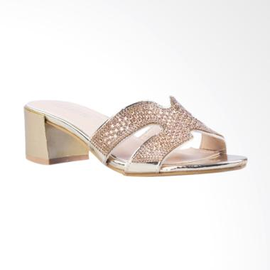 Clarette Claudia Sandals Wanita - Gold