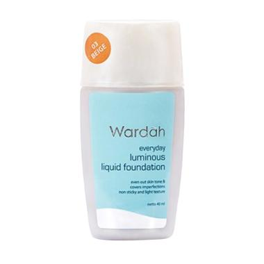 Wardah Luminous Foundation - Beige [40 mL]