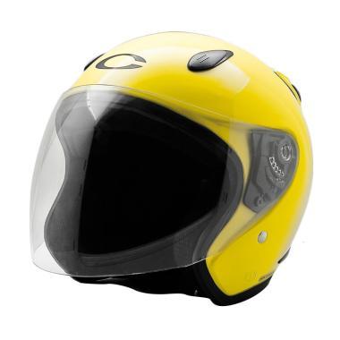 Cargloss YCN New Helm Half Face - Ferrary Yellow
