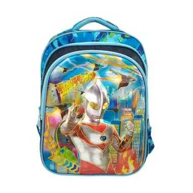 Ultraman 0930010335 3D Backpack Anak - Blue Coral