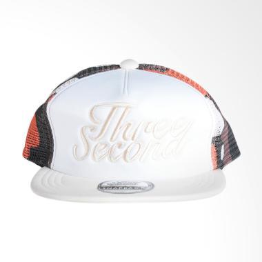 3SECOND 0311 Men Hat - White