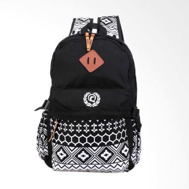 Raindoz Bag Backpack Ransel Kasual Tas Punggung Pria - Hitam