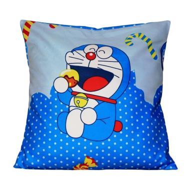 Monalisa Motif Doraemon Sarung Bantal Sofa [40 cm]