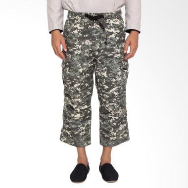 Zayidan Sirwal Loreng Army Celana Muslim Pria - Digital Abu