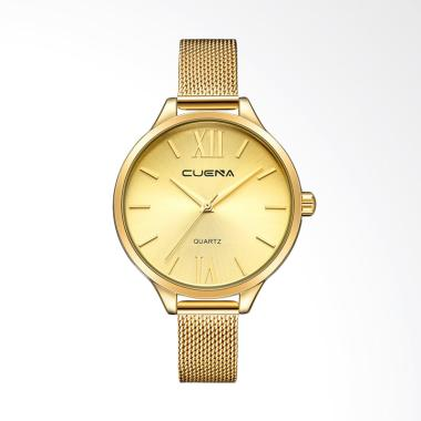 Cuena 6641J Top Luxury Fashion Quar ...  Jam Tangan Wanita - Gold