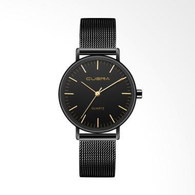 Cuena 6645A-J Top Luxury Fashion La ... f Jam Tangan - Black Gold