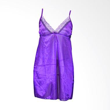 Deoclaus Sexy TSP Fashion Baju Tidur Wanita Lingerie - Purple