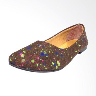 Develope 009 Sepatu Slip On Wanita - Chocolate