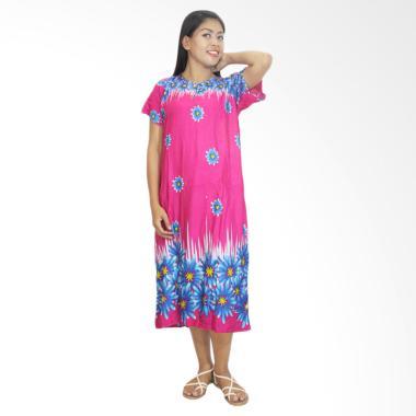 Batik Alhadi DPT001-62B Daster Kancing Baju Tidur Lengan Pendek