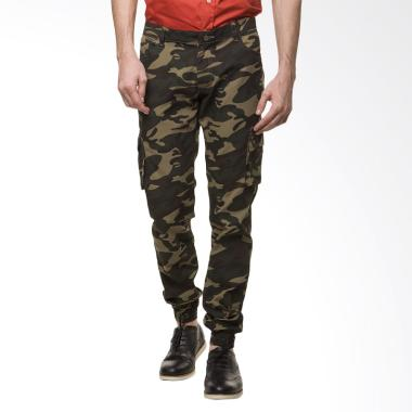 Efesu Jogger Pants Celana Pria - Green Army