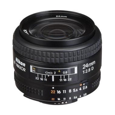 Nikon AF Nikkor 24mm f/2.8D Lensa Kamera