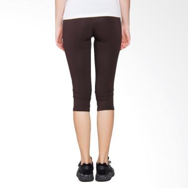 OPELON Capri Pants Celana Olahraga Wanita - Coklat [17.8053.000.10.BR]