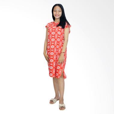 Batik Alhadi BPT002-29DA Daster Midi Dress Piyama Baju Tidur