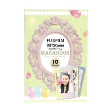 Fujifilm Macaron Film Refill for Ka ... d Instax Mini [10 Lembar]