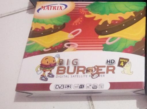 Matrix Big Burger Receiver Parabola [HD MPEG4/ HDMI+RCA]