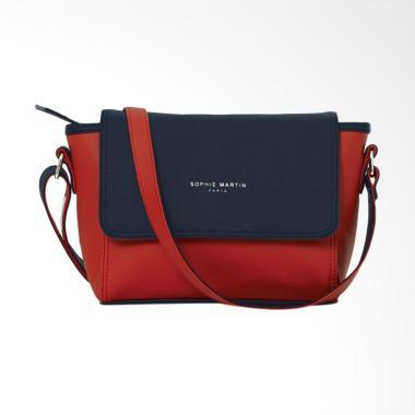 Sophie Paris T3358R1 Tisserand Bag Tas Selempang Wanita - Merah