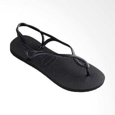 Havaianas Luna 0090 Sandal Flip Flop Wanita - Black