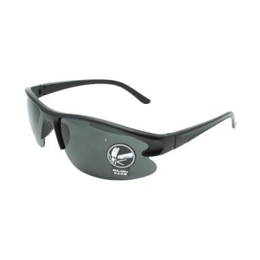 OULAIOU Anti UV Kacamata Sepeda - Black [3106]