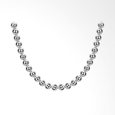 SOXY LKNSPCN097-2 Newfashion Hollow ...  Necklace Wanita - Silver