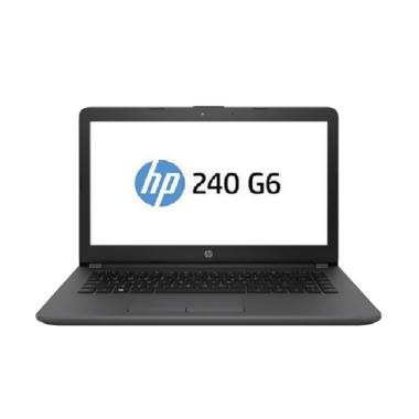 harga HP 240 G6 Laptop [Core i3 6006U/ 4 GB/ 500 GB/ 14 Inch/ DOS] Black Blibli.com