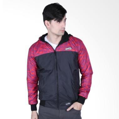 Refill Stuff RS Jaket Bolak Balik - Merah Hitam