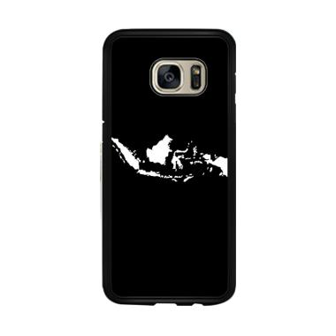 Acc Hp Peta Indonesia Jokowi Selfie ... ng Galaxy S7 Edge - Black