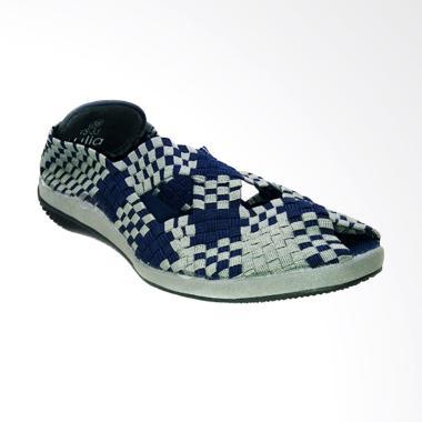 Lulia VS33 Sepatu Rajut Wanita - Navy