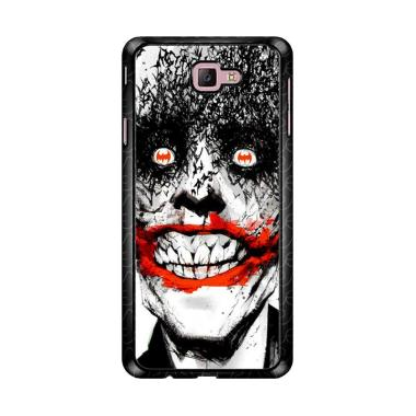 Flazzstore Creepy Smile Face Joker Z0981 Custom Casing for Samsung Galaxy J7 Prime