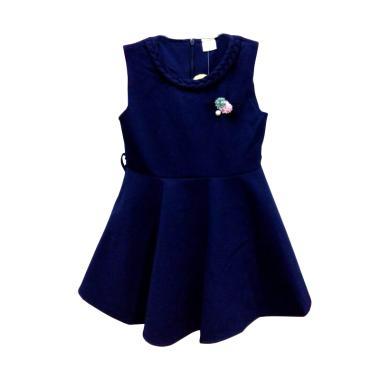 Import Kid 2033 Dress Anak - Biru Dongker