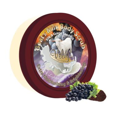 Velvy Goat's Milk Silk & Grape Seed Oil Body Srub [100 g]
